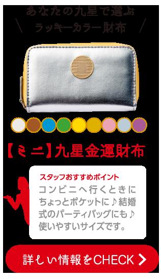 【ミニ】九星金運財布