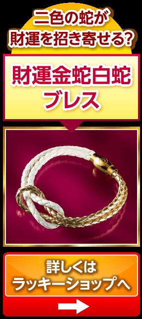 財運金蛇白蛇ブレス